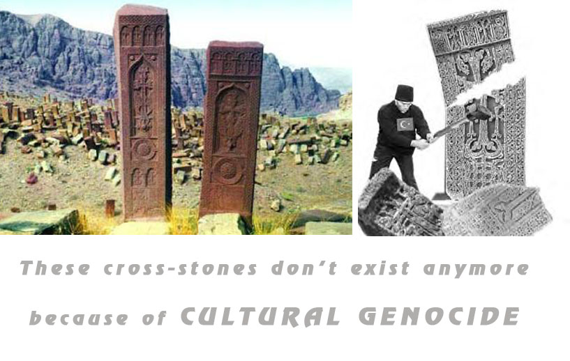 This cross-stones doesn't exist anymore, because of CULTURAL GENOCIDE
