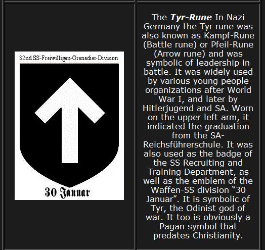 Bilderesultat for tyr symbol