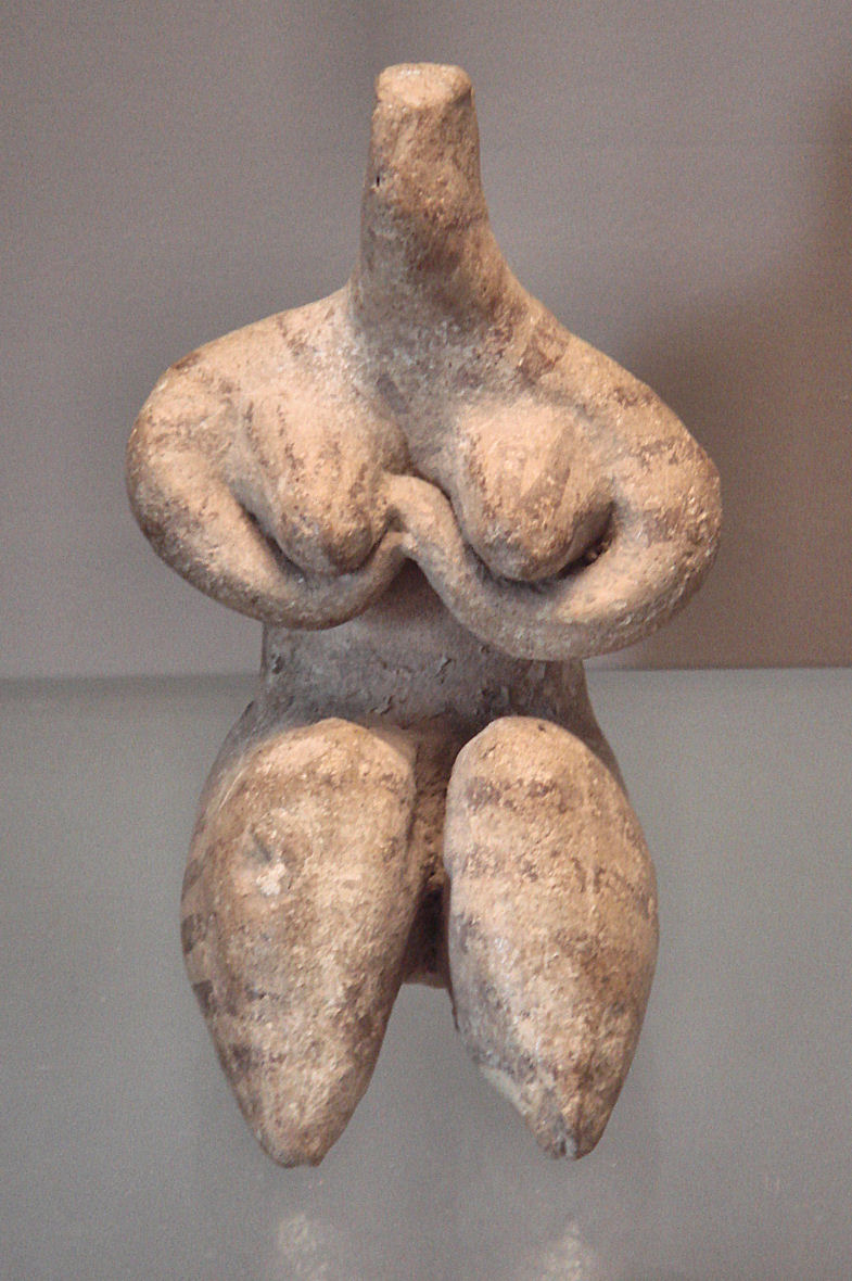 Female_Statuette_Halaf_Culture_6000-5100_BCE