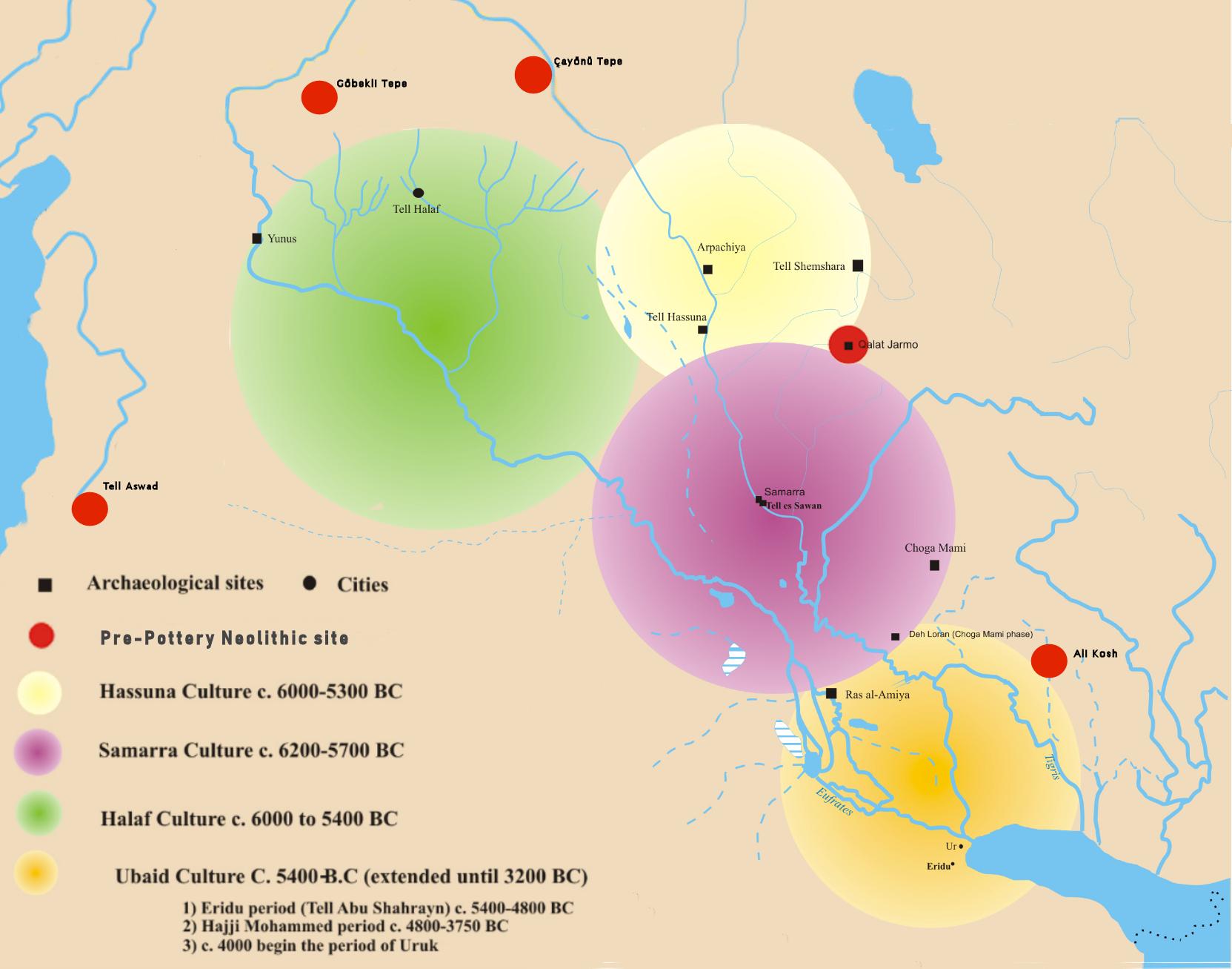 Mesopotamian_Prehistorical_cultures