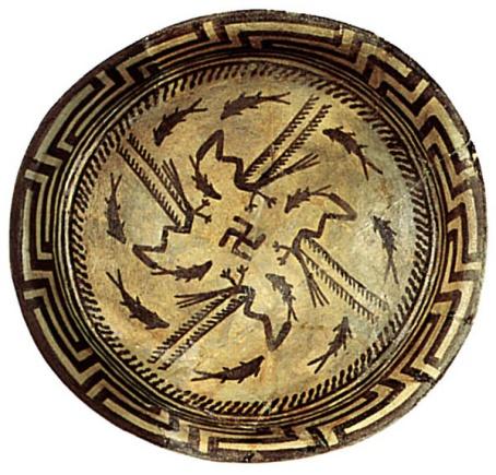 swastica plate